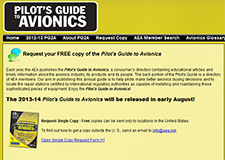 Free copy of the Pilot's Guide to Avionics