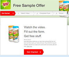 Free Scotch Brite Sample