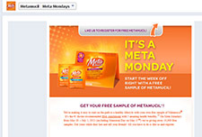 Free Metamucil On Mondays Through July 1st
