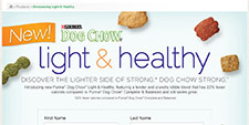 Free Purina Dog Chow Light & Healthy Sample