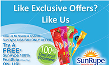 Free SunRype FruitStrip Coupon
