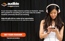 Free $5 Audible.com Audiobooks Voucher