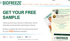 Free Biofreeze Sample
