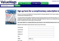 Free Complimentary Subscription to Cruising World