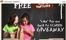 Free Back to Nature Product Sample 3Pm Daily