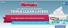 Free Huggies Triple Clean Wipes Sample - Limited Daily Sample