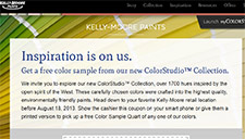 Free Color Sample At kelly Moore Paints