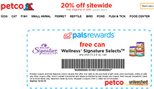 Free 2.8 oz. Can of Wellness Signature Select Cat Food at Petco