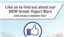Free ZonePerfect Greek Yogurt Bar Coupon