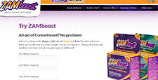 Free ZAMboost Immune Supplement Sample
