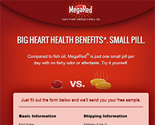 Free Fish Oil From MegaRed®