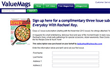 Free EveryDay With Rachael Magazine Subscription