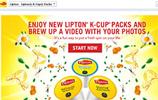 Free Lipton K-Cup Tea Sample