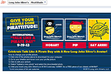 Free Piece of Long John Silver's Whitefish at Participating Restaurants 9/19/13