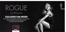 Free Perfumes By Rihanna ROGUE Sample