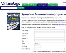 Free Yachting Magazine Sample