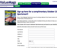 Free Saltwater Sportsman Magazine Subscription