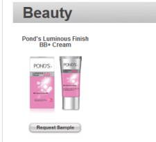 Free Pond's Luminous Finish BB+ Cream Magazine Subscription