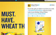 Free Box of Wheat Thins - Must Follow Them On Twitter