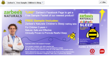 Free Zarbee's Naturals Children's Sleep Sample