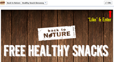 Free Back to Nature Product 3PM EST Today 1/20/14