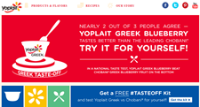 Free Yoplait Tasteoff Kit