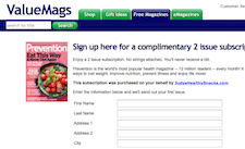 Free Prevention Magazine Subscription