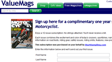 Free Motorcyclist Magazine Subscription