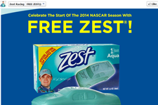Free Zest Car Shaped Soap on Monday First 200 Everyday
